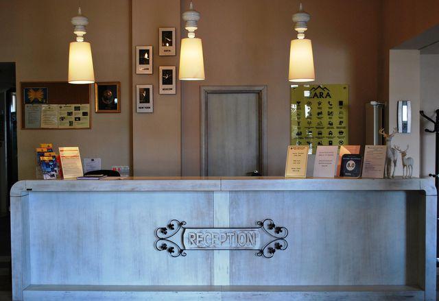 Zara hotel - Reception